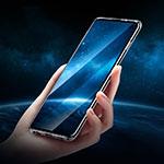 Custodia Silicone Trasparente Ultra Sottile Cover Morbida H01 per Samsung Galaxy S10 Plus Nero
