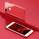 Custodia Silicone Trasparente Ultra Sottile Morbida A18 per Apple iPhone 8 Plus Chiaro