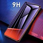 Pellicola in Vetro Temperato Protettiva Integrale Proteggi Schermo Film F06 per Huawei Mate 20 Nero