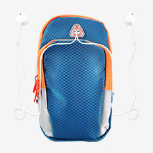 Fascia da Braccio Armband Corsa Sportiva Diamante Universale B01 Blu