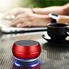 Altoparlante Casse Mini Bluetooth Sostegnoble Stereo Speaker Rosso