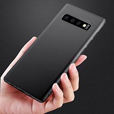 Custodia Silicone Ultra Sottile Morbida per Samsung Galaxy S10 Plus Nero