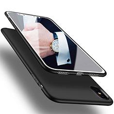 Custodia Silicone Ultra Sottile Morbida S16 per Apple iPhone Xs Max Nero
