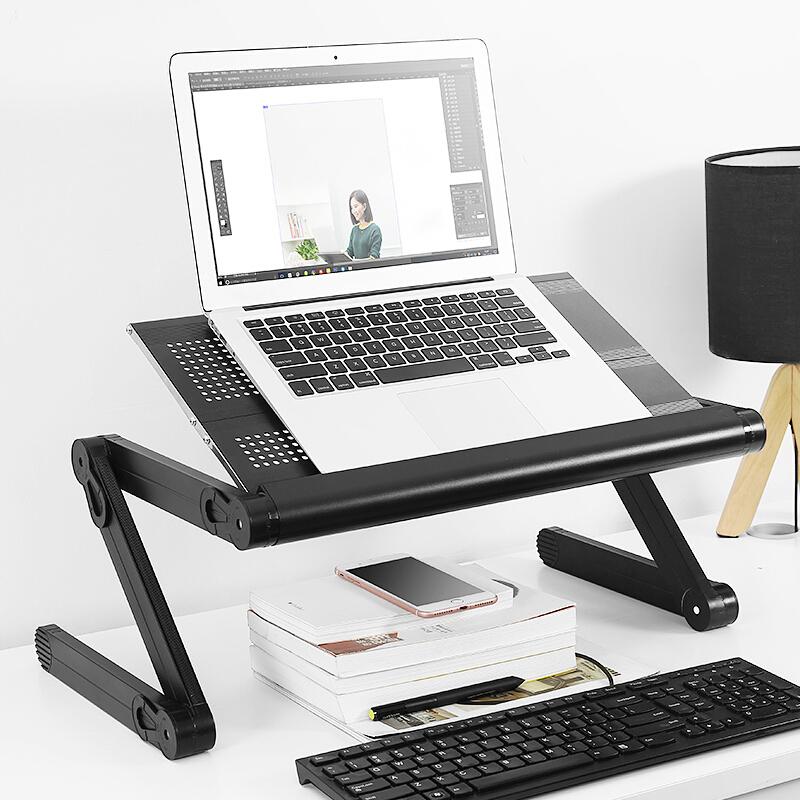 Supporto Computer Sostegnotile Notebook Universale S06 per Apple MacBook Pro 13 pollici Nero