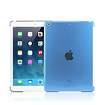 Cover Ultra Sottile Trasparente Rigida Opaca per Apple iPad Mini Cielo Blu