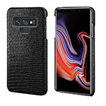Custodia Lusso Pelle Cover P02 per Samsung Galaxy Note 9 Nero