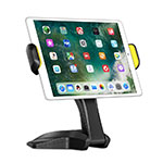 Supporto Tablet PC Flessibile Sostegno Tablet Universale K03 per Apple iPad 4 Nero