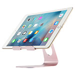 Supporto Tablet PC Flessibile Sostegno Tablet Universale K15 per Apple New iPad Air 10.9 (2020) Oro Rosa
