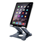 Supporto Tablet PC Flessibile Sostegno Tablet Universale K18 per Apple iPad Air Grigio Scuro
