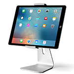 Supporto Tablet PC Sostegno Tablet Universale T24 per Apple New iPad 9.7 (2018) Argento