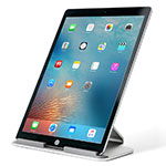 Supporto Tablet PC Sostegno Tablet Universale T25 per Apple iPad New Air (2019) 10.5 Argento