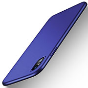 Cover Silicone Ultra Sottile Morbida per Apple iPhone Xs Max Blu