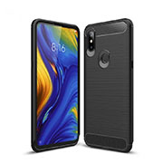 Custodia Silicone Cover Morbida Line per Xiaomi Mi Mix 3 Nero