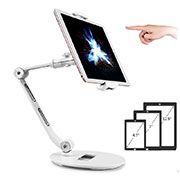 Supporto Tablet PC Flessibile Sostegno Tablet Universale H08 per Apple iPad New Air (2019) 10.5 Bianco