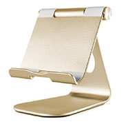 Supporto Tablet PC Flessibile Sostegno Tablet Universale K23 per Apple iPad 3 Oro