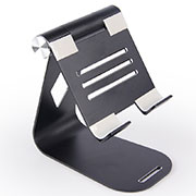Supporto Tablet PC Flessibile Sostegno Tablet Universale K25 per Apple iPad 2 Nero