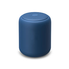 Altoparlante Casse Mini Bluetooth Sostegnoble Stereo Speaker K02 per Samsung Galaxy S21 Plus 5G Blu