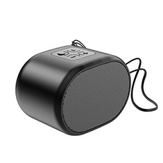 Altoparlante Casse Mini Bluetooth Sostegnoble Stereo Speaker K06 per Huawei Matebook E 12 Nero