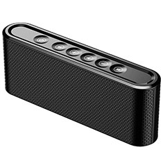 Altoparlante Casse Mini Bluetooth Sostegnoble Stereo Speaker K07 per Samsung Galaxy A8+ A8 Plus 2018 Duos A730F Nero