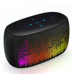 Altoparlante Casse Mini Bluetooth Sostegnoble Stereo Speaker S06 per Huawei Mate 30 Nero