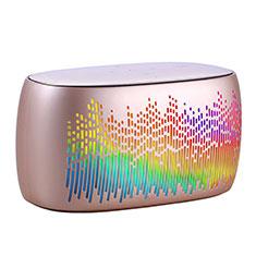 Altoparlante Casse Mini Bluetooth Sostegnoble Stereo Speaker S06 Oro