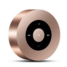 Altoparlante Casse Mini Bluetooth Sostegnoble Stereo Speaker S07 Oro