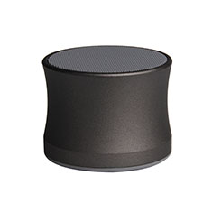 Altoparlante Casse Mini Bluetooth Sostegnoble Stereo Speaker S14 per Samsung Galaxy S21 Plus 5G Nero