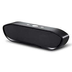 Altoparlante Casse Mini Bluetooth Sostegnoble Stereo Speaker S16 per LG Q52 Nero