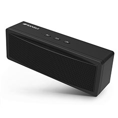 Altoparlante Casse Mini Bluetooth Sostegnoble Stereo Speaker S19 per LG Q52 Nero