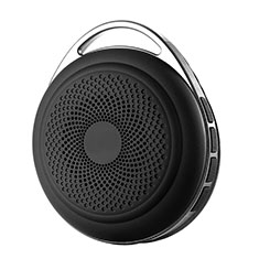 Altoparlante Casse Mini Bluetooth Sostegnoble Stereo Speaker S20 per LG Q52 Nero