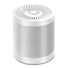 Altoparlante Casse Mini Bluetooth Sostegnoble Stereo Speaker S21 per Huawei Mate 30 Pro Bianco