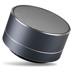 Altoparlante Casse Mini Bluetooth Sostegnoble Stereo Speaker S24 per LG Q52 Nero