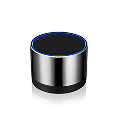 Altoparlante Casse Mini Bluetooth Sostegnoble Stereo Speaker S27 per Samsung Galaxy S30 Plus 5G Argento
