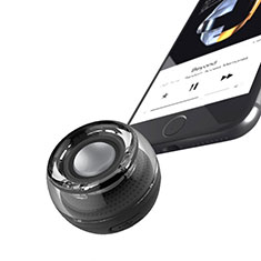 Altoparlante Casse Mini Bluetooth Sostegnoble Stereo Speaker S28 per Samsung Galaxy S21 Plus 5G Nero
