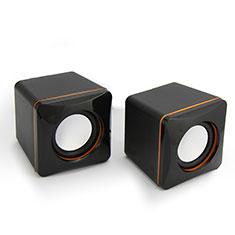 Altoparlante Casse Mini Sostegnoble Stereo Speaker per Huawei Mate 30 Nero