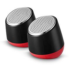 Altoparlante Casse Mini Sostegnoble Stereo Speaker S02 per Huawei Mate 30 Nero