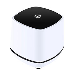 Altoparlante Casse Mini Sostegnoble Stereo Speaker W06 per Samsung Galaxy S30 Plus 5G Bianco