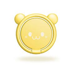 Anello Supporto Magnetico Sostegno Cellulari Universale H20 per Xiaomi Mi 9T Pro Giallo