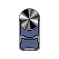 Anello Supporto Magnetico Sostegno Cellulari Universale H21 per Xiaomi Mi 9T Pro Blu