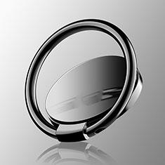 Anello Supporto Magnetico Sostegno Cellulari Universale Z16 per Huawei Mate 30 Pro Nero