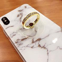 Anello Supporto Sostegno Cellulari Universale S15 per Huawei Mate 30 Pro Oro