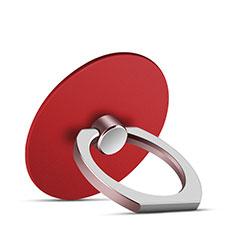 Anello Supporto Sostegno Cellulari Universale Z05 per Huawei Mate 30 Pro Rosso