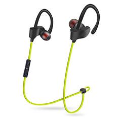 Auricolare Bluetooth Cuffia Stereo Senza Fili Sport Corsa H48 per Xiaomi Mi A3 Verde
