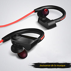 Auricolare Bluetooth Cuffia Stereo Senza Fili Sport Corsa H53 per Apple iPhone 8 Plus Nero