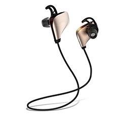Auricolare Bluetooth Cuffie Stereo Senza Fili Sport Corsa H35 per LG K92 5G Oro