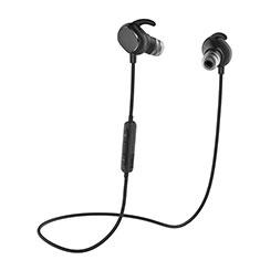 Auricolare Bluetooth Cuffie Stereo Senza Fili Sport Corsa H43 per LG K92 5G Nero