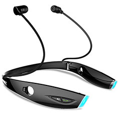 Auricolare Bluetooth Cuffie Stereo Senza Fili Sport Corsa H52 per Apple MacBook Air 13 2020 Nero