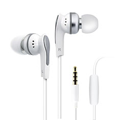 Auricolari Cuffia In Ear Stereo Universali Sport Corsa H23 per Apple iPhone 11 Bianco