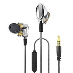 Auricolari Cuffie In Ear Stereo Universali Sport Corsa H04 Argento