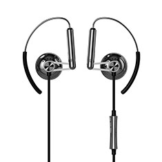Auricolari Cuffie In Ear Stereo Universali Sport Corsa H22 per Apple iPhone 11 Nero